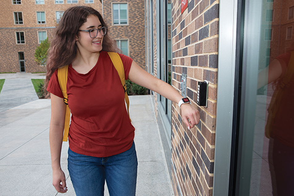 Door access solutions for your campus